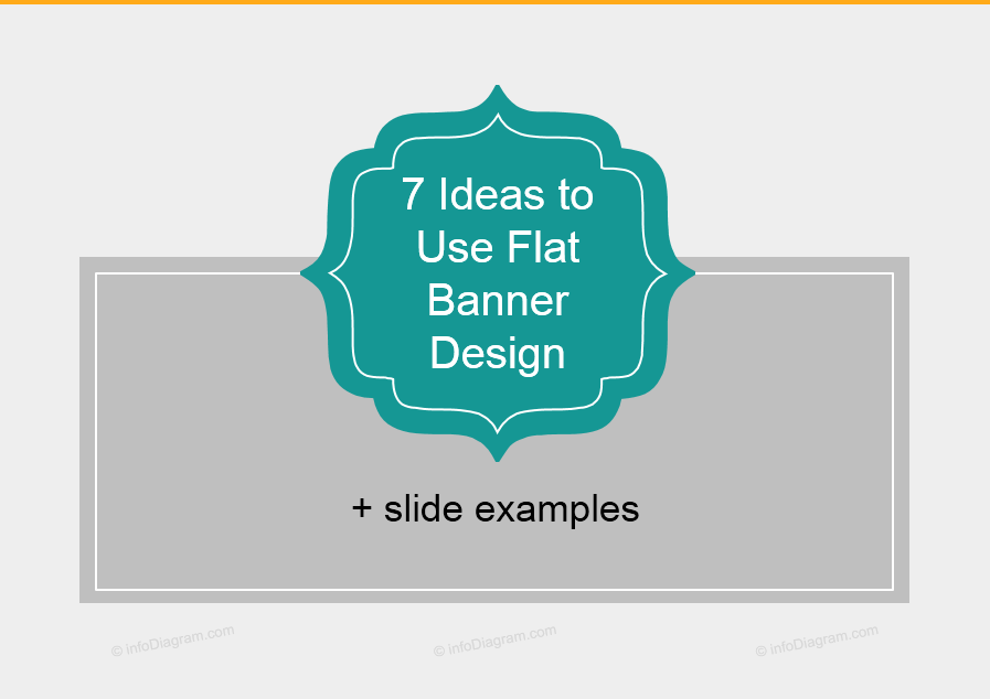 7 Flat Banner Design Ideas for Making Attractive Slides