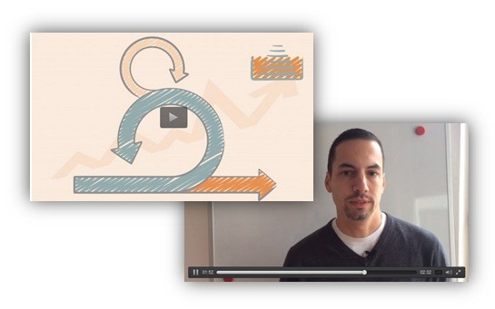 How Sebastian uses slide design for e-learning Scrum course