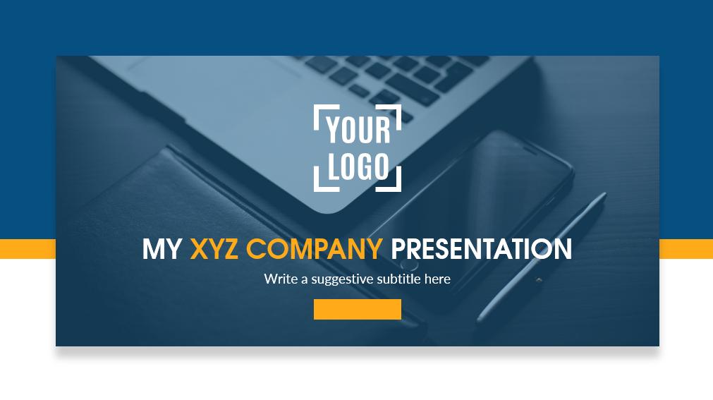 how to make company profile presentation