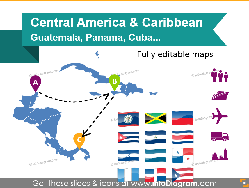 Central America Countries: Best Ways to Present Maps Creatively