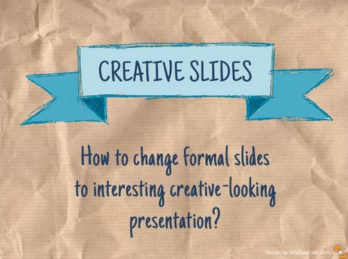 Making Creative Slides [Slideshare featured!]
