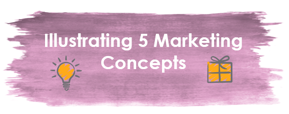 Illustrating 5 Core Marketing Concepts in Your Presentation